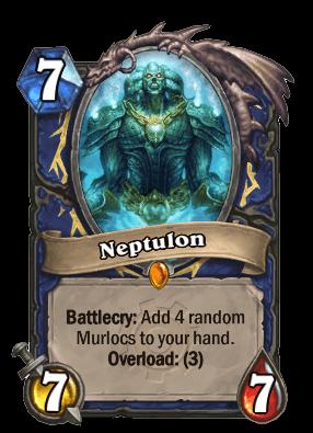 neptulon goblins vs gnomes hearthstone kártya