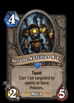 arcnae nulifier goblins vs gnomes hearthstone kártya