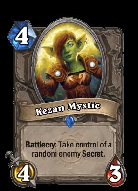 kezan mystic goblins vs gnomes hearthstone kártya