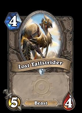 lost tallstrider goblins vs gnomes hearthstone kártya