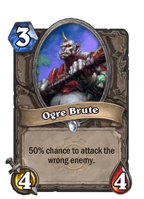 ogre brute goblins vs gnomes hearthstone kártya