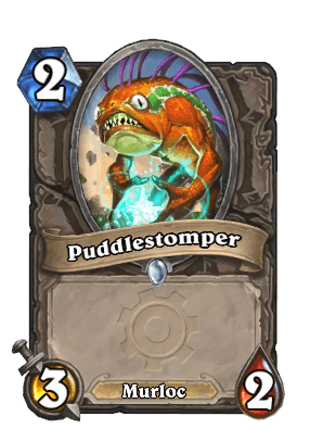 puddlestomper goblins vs gnomes hearthstone kártya