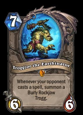 troggzor goblins vs gnomes hearthstone kártya