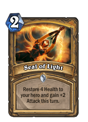 seal of light goblins vs gnomes hearthstone kártya