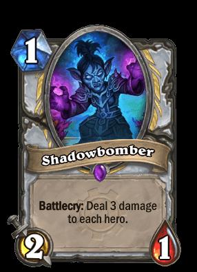 shadowbomber goblins vs gnomes hearthstone kártya