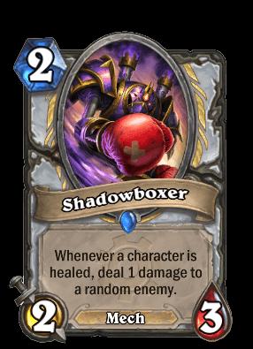 Shadowboxer goblins vs gnomes hearthstone kártya