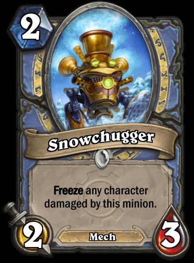 snowchugger hearthstone kártya goblins vs gnomes