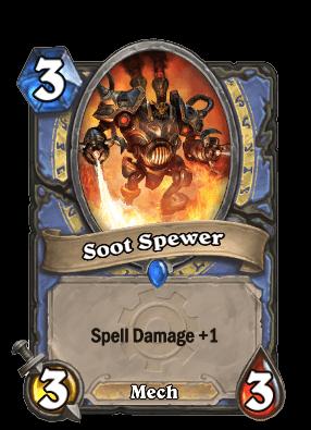 soot spewer goblins vs gnomes hearthstone kártya