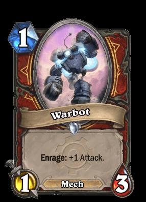 warbot goblins vs gnomes hearthstone kártya