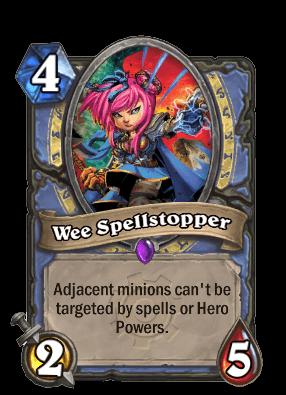 wee spellstopper goblins vs gnomes hearthstone kártya