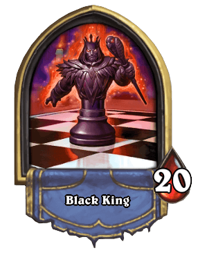 Black King Karazhan ellenség