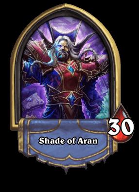 Shade of Aran Karazhan ellenség
