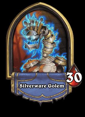 Silverware Golem Karazhan ellenség