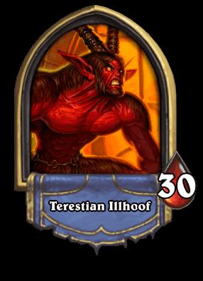 Terestian Illhoof Karazhan ellenség