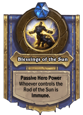 blessings of the sun hero power