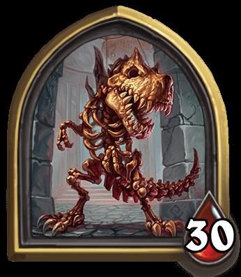 Skelesaurus Hex ellenség