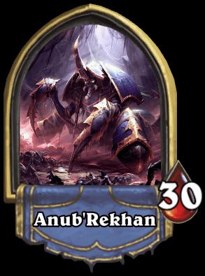Anubrekhan ellenség naxxramas kaland mód Hearthstone