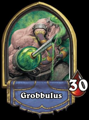 Grobbulus ellenség Naxxramas kaland mód Hearthstone