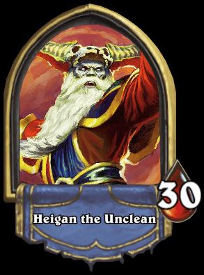 Heigan the Unclean ellenség