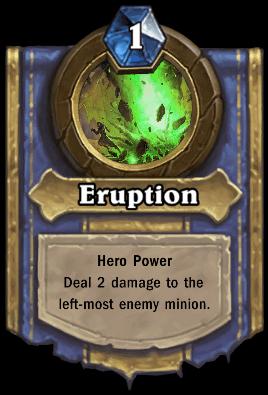 Heigan the Unclean hero power Eruption