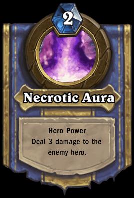 Loatheb hero power Necrotic Aura