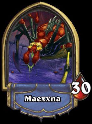 Maexxna ellenség Naxxramas kaland mód Hearthstone