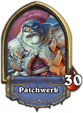 Patchwerk ellenség Naxxramas kaland mód Hearthstone