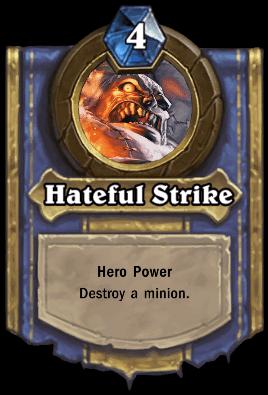 Patchwerk hero power hateful strike