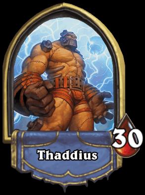 Thaddius ellenség Naxxramas kaland mód Hearthstone